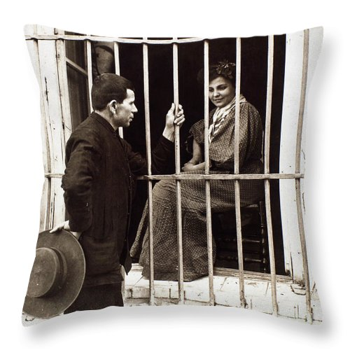 20th Century Throw Pillow featuring the photograph Love, 20th Century by Granger