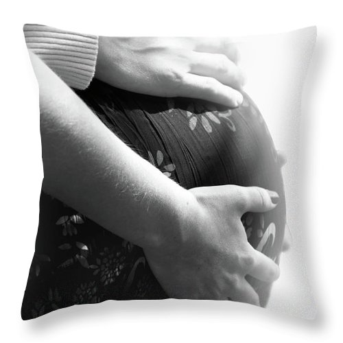 Love Throw Pillow featuring the photograph Love Blooms by Lisa Knechtel