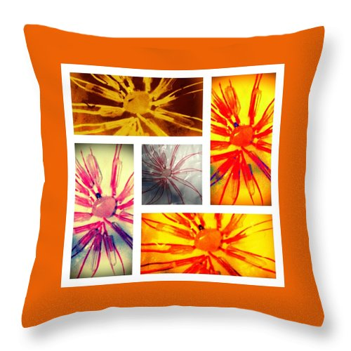 Crystals Throw Pillow featuring the photograph Love by Susan Joseph