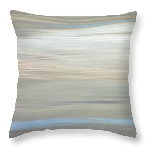 Coastal Throw Pillow featuring the photograph Low Country Coastal Blur by Suzanne Gaff
