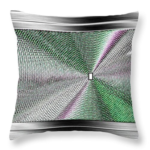 Abstract Throw Pillow featuring the digital art Luminous Energy 13 by Will Borden