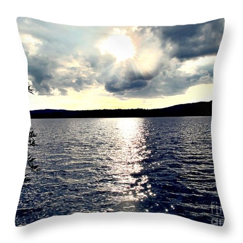 Lake Throw Pillow featuring the photograph Luminous Lakeside by Onedayoneimage Photography