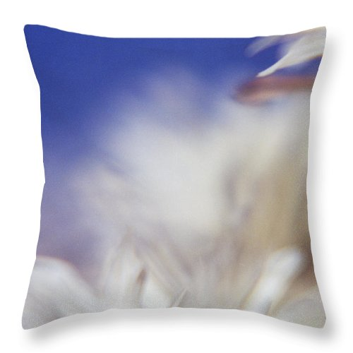 Flower Throw Pillow featuring the photograph Macro Flower 1 by Lee Santa