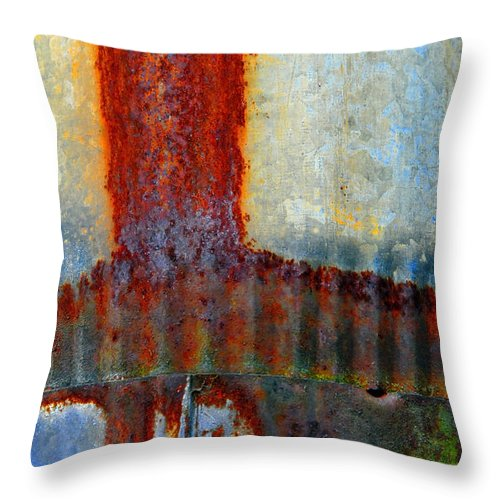 Skip Hunt Throw Pillow featuring the photograph Magma by Skip Hunt