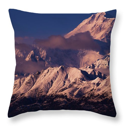 Majesty Throw Pillow featuring the photograph Majesty by Chad Dutson