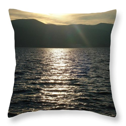 Croatia Throw Pillow featuring the photograph Make a wish by De La Rosa Concert Photography