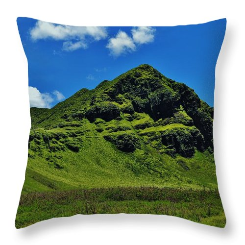 Makua (parent) Throw Pillow featuring the photograph Makua by Craig Wood
