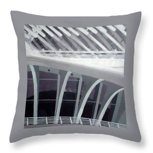 Mam Throw Pillow featuring the mixed media Mam Close Up by Anita Burgermeister