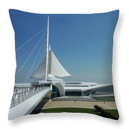 Mam Throw Pillow featuring the photograph Mam Series 1 by Anita Burgermeister