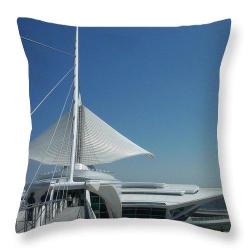Mam Throw Pillow featuring the photograph Mam Series 2 by Anita Burgermeister