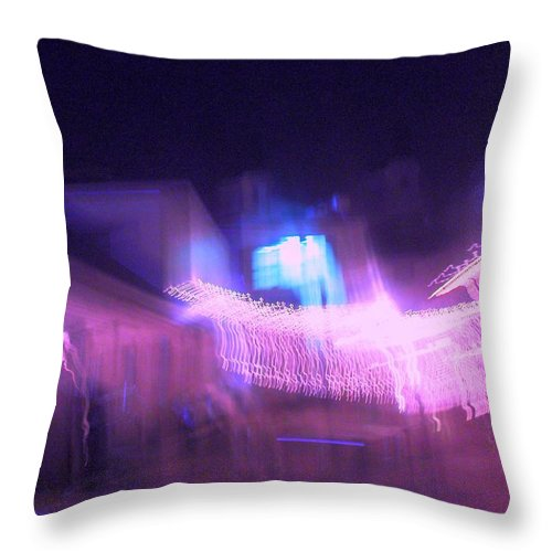 Photograph Throw Pillow featuring the photograph Marion Court Room by Thomas Valentine