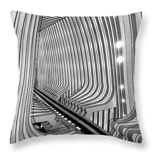 Architecture Throw Pillow featuring the photograph Marquis by Dick Goodman