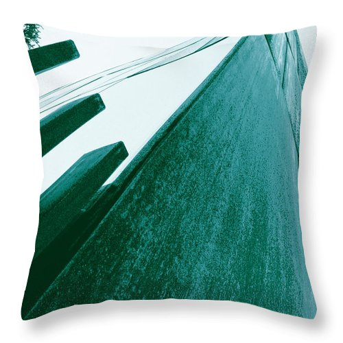 Mca Throw Pillow featuring the photograph Mca Denver by Jeffery Ball
