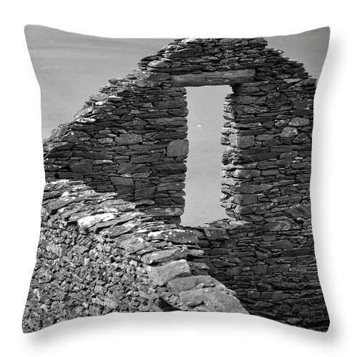 Stone Throw Pillow featuring the photograph Memories Long Gone by Thomas Glover