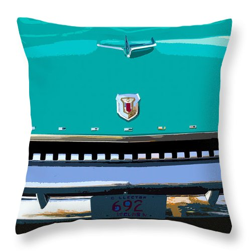 Mercury Throw Pillow featuring the painting Mercury In Green by David Lee Thompson