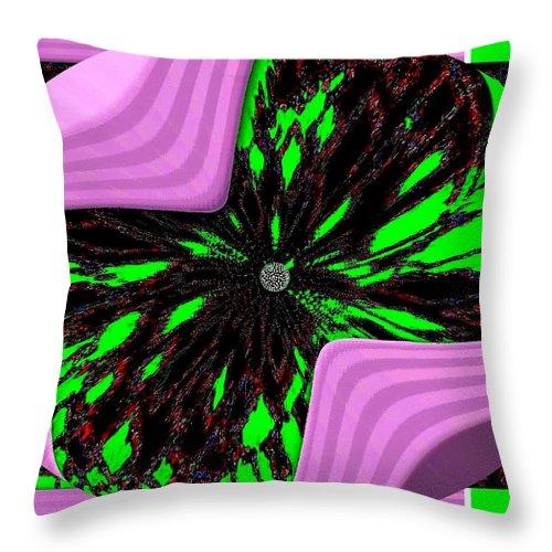 Metamorphose Throw Pillow featuring the digital art Metamorphose by Will Borden