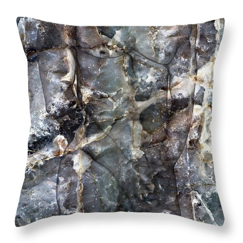 Nudes Throw Pillow featuring the photograph Metamorphosis Male by Kurt Van Wagner