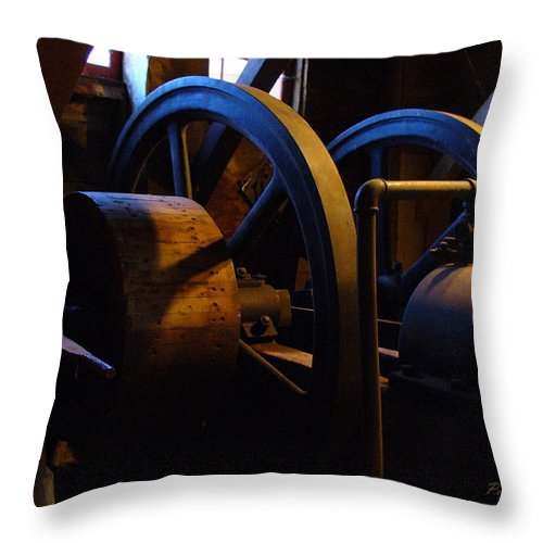 Power Throw Pillow featuring the photograph Mill Power by Peggy King