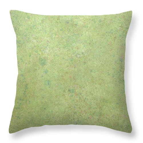 Minimal Throw Pillow featuring the painting Minimal number 1 by James W Johnson