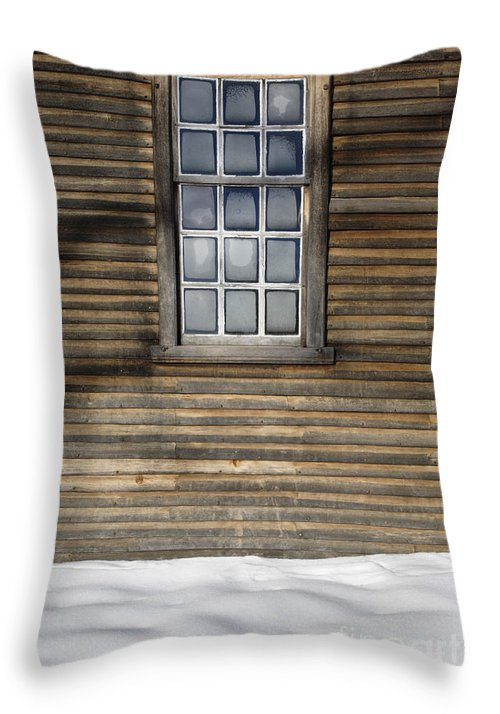 Window Throw Pillow featuring the photograph Minute Man National Historical Park In Lincoln Massachusetts Usa by Erin Paul Donovan