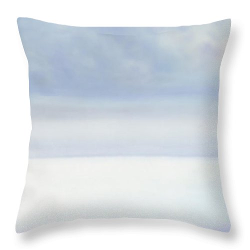 Moana Pearl Throw Pillow featuring the painting Moana Pearl 2 by Kevin Smith