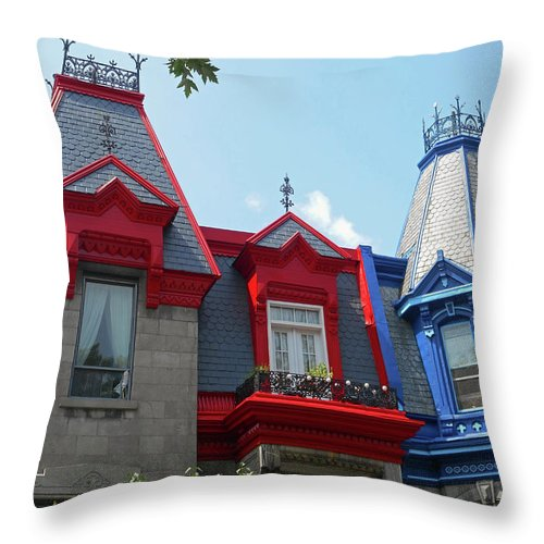 Montreal Throw Pillow featuring the photograph Montreal 34 by Ron Kandt