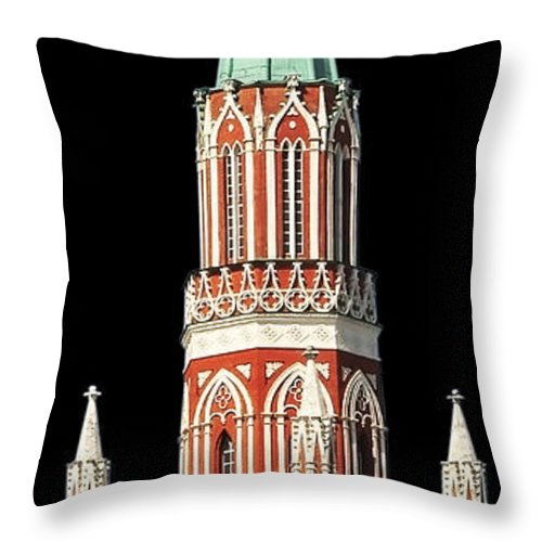 Moscow Throw Pillow featuring the photograph Moscow09 by Svetlana Sewell