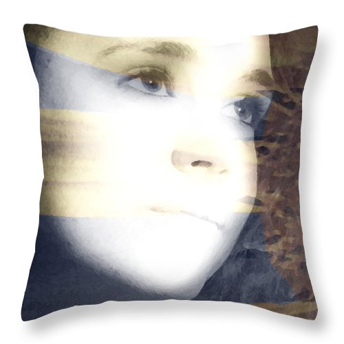 Modern Throw Pillow featuring the photograph Mother Nature by Amanda Barcon