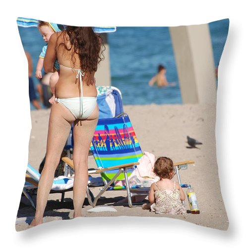 Mother Throw Pillow featuring the photograph Mother by Rob Hans