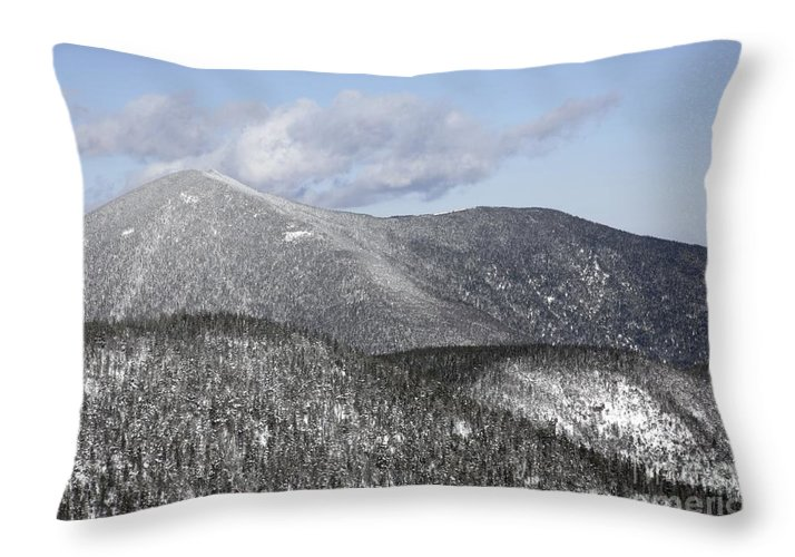 Hike Throw Pillow featuring the photograph Mount Carrigain - White Mountains New Hampshire Usa by Erin Paul Donovan