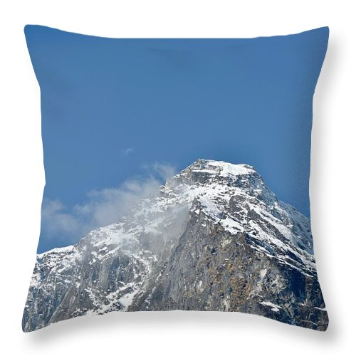 Mountain Throw Pillow featuring the photograph Mountain by Immature Photography LLP
