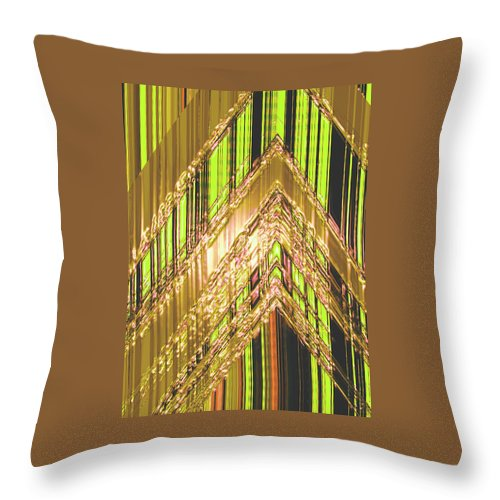 Moveonart! Digital Gallery Throw Pillow featuring the digital art MoveOnArt Amplify Your Creativity Three by Jacob Kanduch