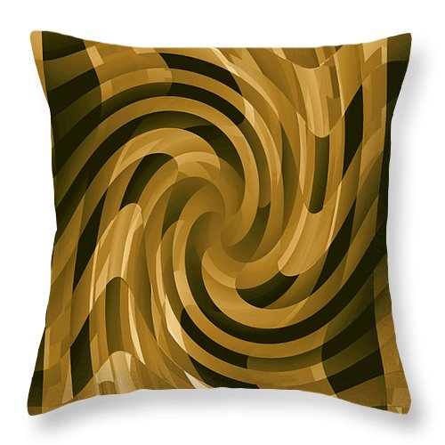 Moveonart! Global Gathering. -- Digital Abstract Art By Jacob Kane -- Omnetra Throw Pillow featuring the digital art Moveonart Changeofthought by Jacob Kanduch