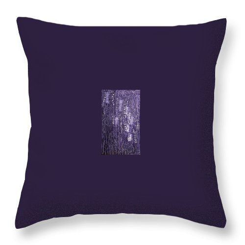 Moveonart! Digital Gallery Throw Pillow featuring the painting Moveonart Days Of Yore by Jacob Kanduch
