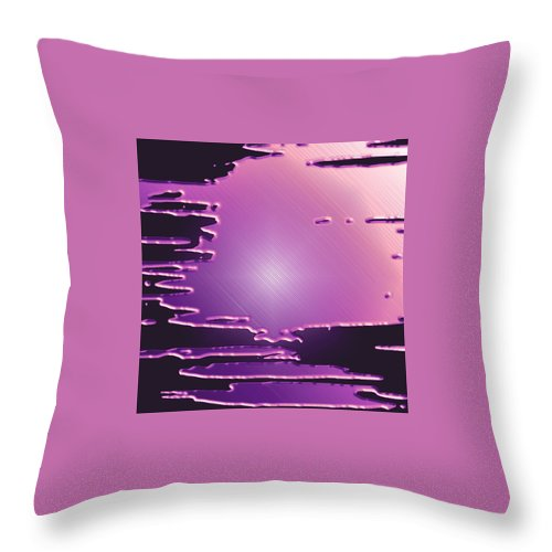 Moveonart! Digital Gallery Throw Pillow featuring the digital art Moveonart Depth Of The Secret by Jacob Kanduch