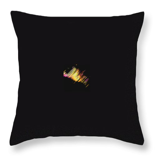Moveonart! Digital Gallery Throw Pillow featuring the digital art Moveonart Dream Light At Night by Jacob Kanduch