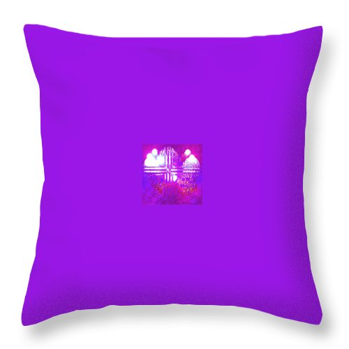 Moveonart! Digital Gallery Throw Pillow featuring the digital art Moveonart Eternal Royal Provision by Jacob Kanduch