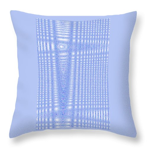 Moveonart! Digital Gallery Throw Pillow featuring the digital art Moveonart Freely Believe by Jacob Kanduch
