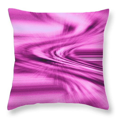 Moveonart! Digital Gallery Throw Pillow featuring the digital art Moveonart Intensity Of Anticipation by Jacob Kanduch