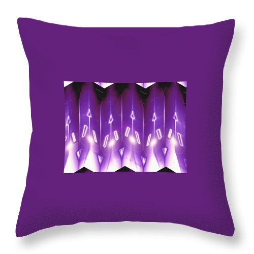 Moveonart! Digital Gallery Throw Pillow featuring the digital art Moveonart Jacobs Angels One by Jacob Kanduch