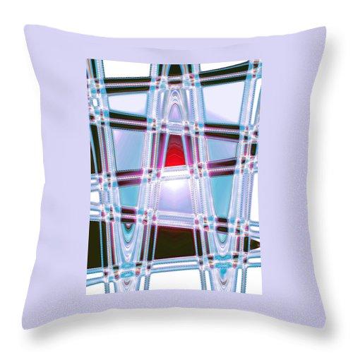 Moveonart! Digital Gallery Throw Pillow featuring the digital art Moveonart Prayer For Wisdom by Jacob Kanduch