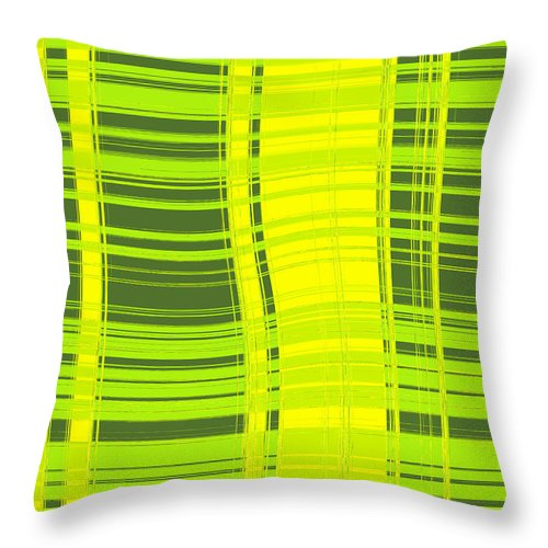 Moveonart! Digital Gallery Lower Nob Hill San Francisco California Jacob Kanduch Throw Pillow featuring the digital art Moveonart Sometimes Simple by Jacob Kanduch