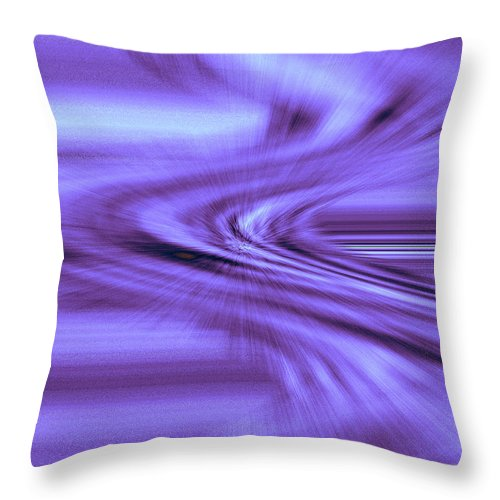Moveonart! Digital Gallery Throw Pillow featuring the digital art Moveonart Steadfast In Spontaneous Storms by Jacob Kanduch