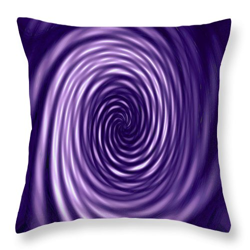 Moveonart! Global Gathering. -- Digital Abstract Art By Jacob Kane -- Omnetra Throw Pillow featuring the digital art Moveonart Swirlinglight by Jacob Kanduch