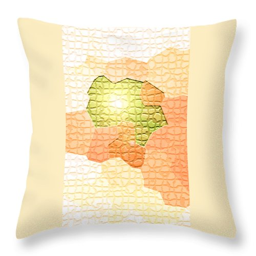 Moveonart! Digital Gallery Throw Pillow featuring the digital art Moveonart Youre Gonna Be Alright by Jacob Kanduch