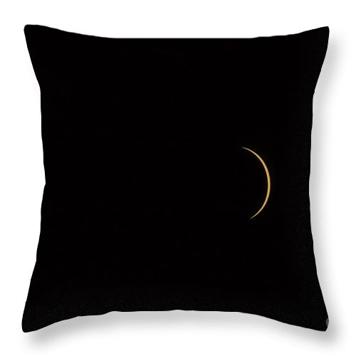 Eclipse Throw Pillow featuring the photograph Moving On by Jay Ane Boza