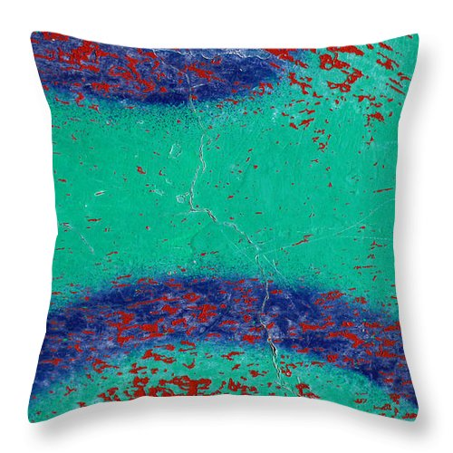 Skip Hunt Throw Pillow featuring the photograph Mr Blue Jangles by Skip Hunt