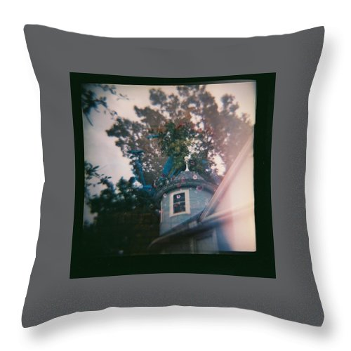 House Throw Pillow featuring the photograph Multiple Exposures by Cassie Peters