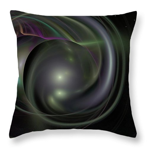 Fantasy Throw Pillow featuring the digital art Multiverse by David Lane