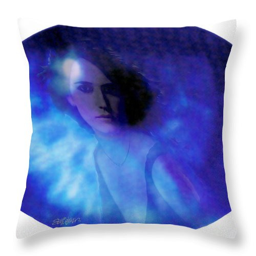 Abstract Throw Pillow featuring the photograph My Eye's Delight by Seth Weaver
